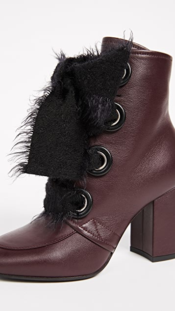 Greymer Lucy Lace Up Booties