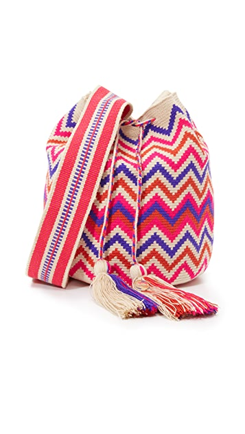 Guanabana Large Bucket Bag