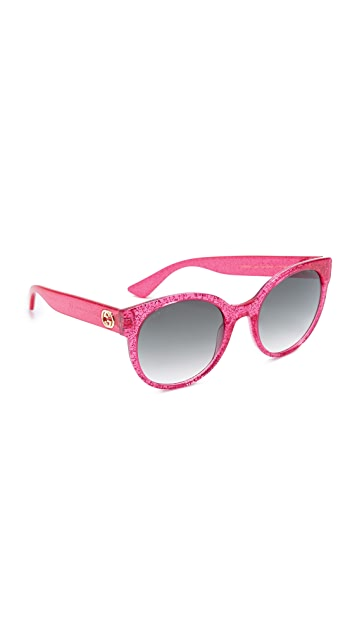 Gucci Urban Pop Round Sunglasses