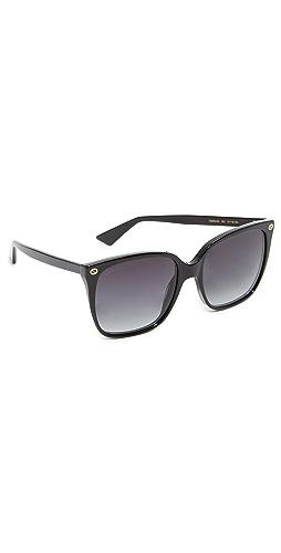 Gucci - Lightness Square Sunglasses