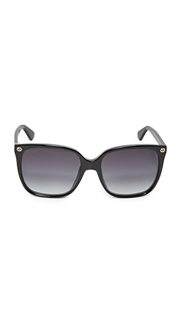 Gucci Lightness Square Sunglasses
