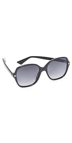 Gucci - Sensual Romanticism Rectangle Sunglasses