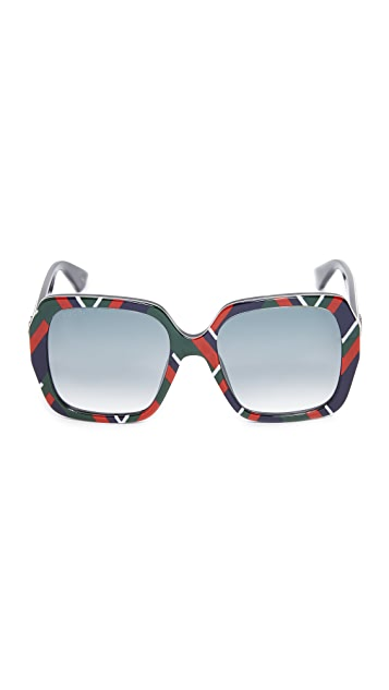 Gucci Sensual Romanticism Square Sunglasses