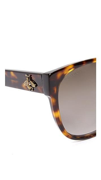 Gucci Sensual Romanticism Cat Eye Sunglasses