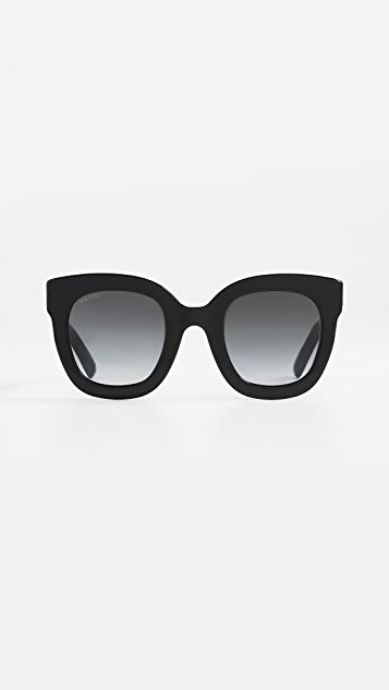 a8020d35ca9 Gucci Urban Stars Rectangle Sunglasses