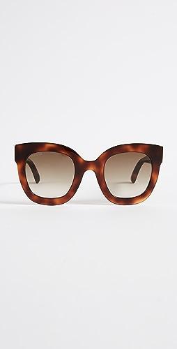 Gucci - Urban Stars Rectangle Sunglasses