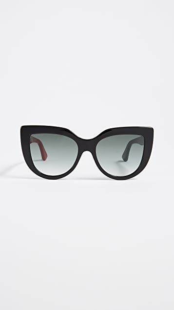 Gucci Cat-Eye-Sonnenbrille Gr. One Size S5wuH