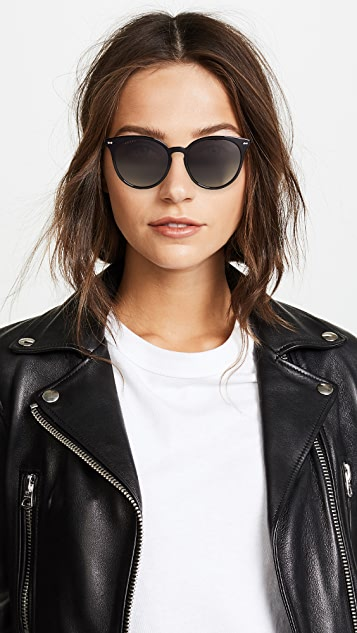 Gucci Opulent Luxury Decor Round Sunglasses