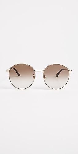 Gucci - Sensual Romanticism Round Sunglasses