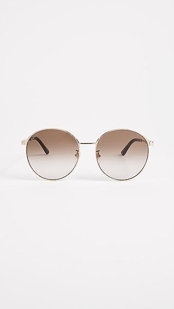 fa9cea5117f Gucci Sensual Romanticism Round Sunglasses