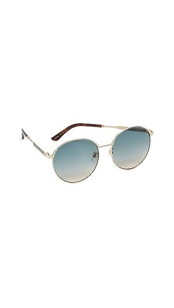 Gucci Sensual Romanticism Round Sunglasses