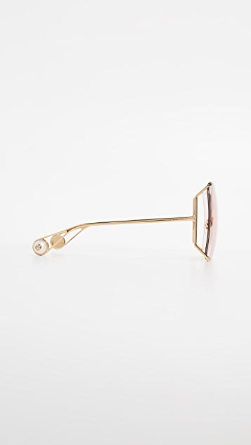 Gucci Cruise Snake Sunglasses