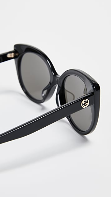 Gucci GG Cat Eye Sunglasses