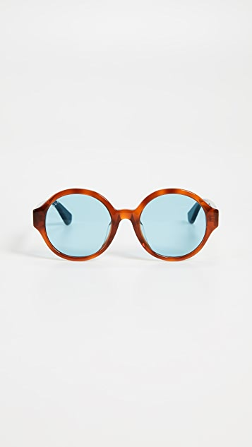 Gucci Sylvie Round Sunglasses