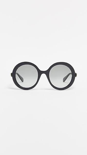 Gucci Glamourous Bold Round Sunglasses