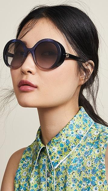 Gucci Glamorous Bold Round Sunglasses