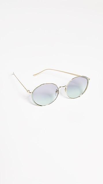 Gucci Oversized Embellished Round Shape Sunglasses