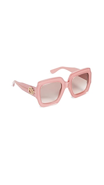 Gucci Pop Web Sunglasses