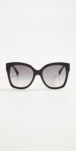 Gucci - Web Plaque Sunglasses
