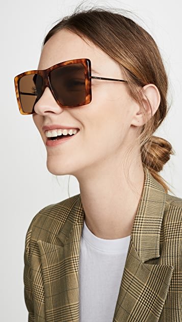 Gucci Evolution Oversized Square Aviators
