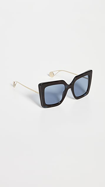 Gucci Evolution Oversized Square Sunglasses