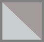 двухслойный серый/серебристый