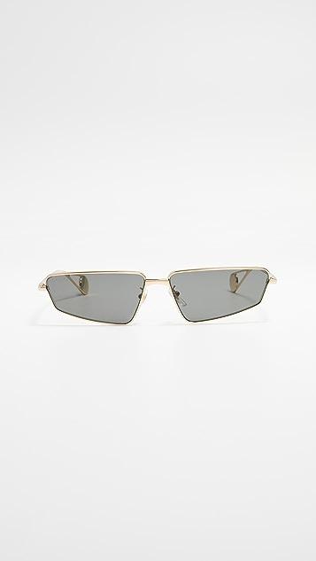 Gucci FS Evolution 窄版猫眼飞行员太阳镜