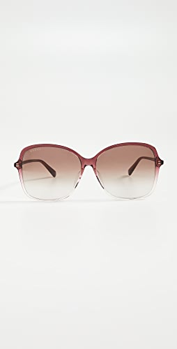 Gucci - Ultralight Acetate Square Sunglasses