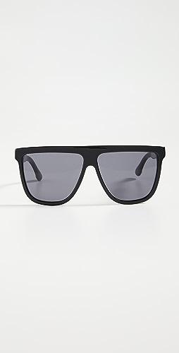 Gucci - Guillochet Plaque Sunglasses