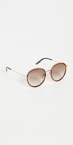 Gucci - Vintage Combi Round Sunglasses