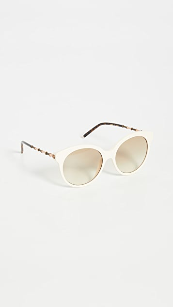 Gucci Bamboo Round Sunglasses