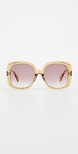 Gucci - Pop Web Oversized Square Sunglasses