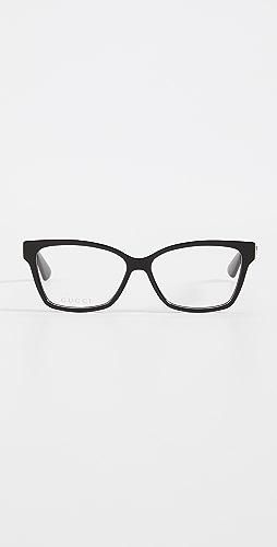 Gucci - 光学灰色眼镜