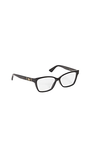 Gucci Optical Gray Glasses