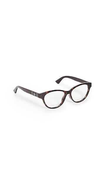 Gucci Optical Brown Glasses