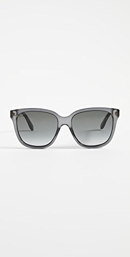 Gucci - Wirecore Squared Acetate Sunglasses