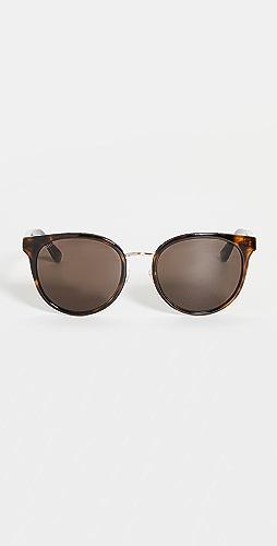 Gucci - Web Wirecore Cat Eye Sunglasses