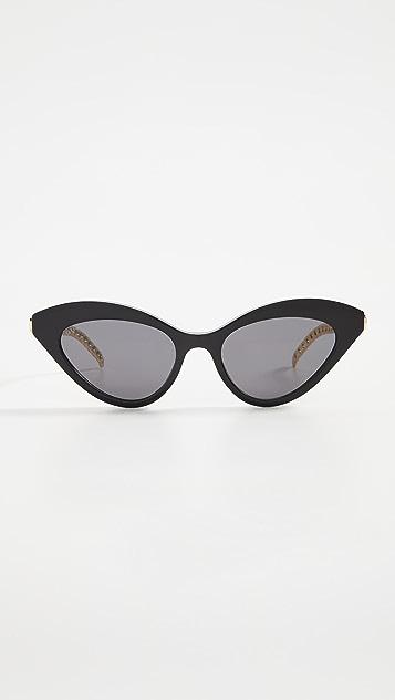 Gucci Gucci Chain Cat Eye Sunglasses