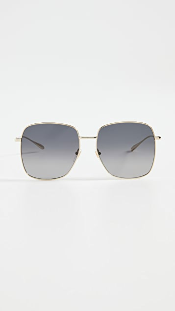Gucci Oversized Metal Sunglasses