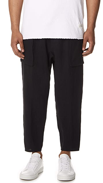 Gustav Von Aschenbach The Patch Pocket Linen Pants