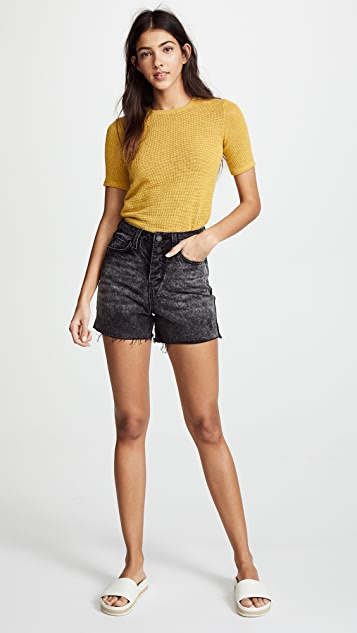 Habitual High Rise Mom Shorts