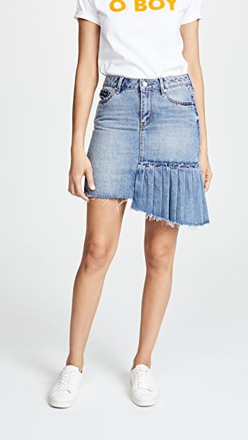 Habitual High Rise Pleated Skirt