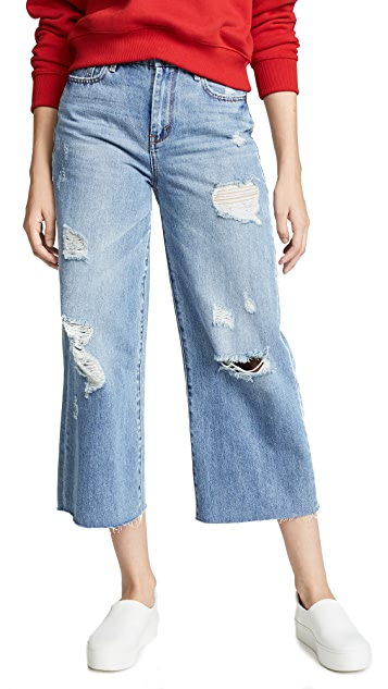 Habitual Super High Rise Wide Leg Jeans