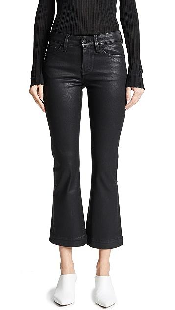 Habitual Kaira Ankle Semi Flare Coated Jeans