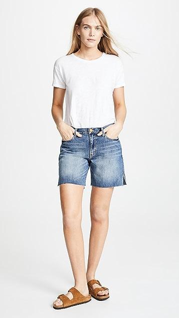 Habitual Emily Slit Cut Off Shorts