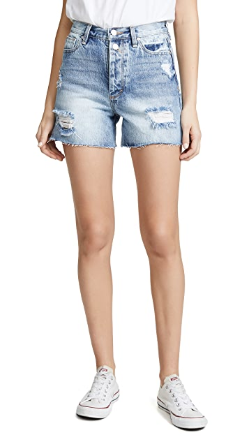 Habitual Maddie High Rise Mom Shorts