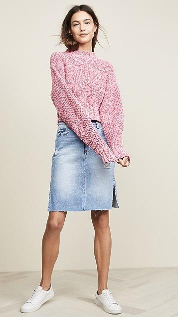 Habitual Willa Double Slit Skirt