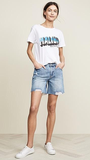 Habitual Emil Mid Rise Boyfriend Shorts
