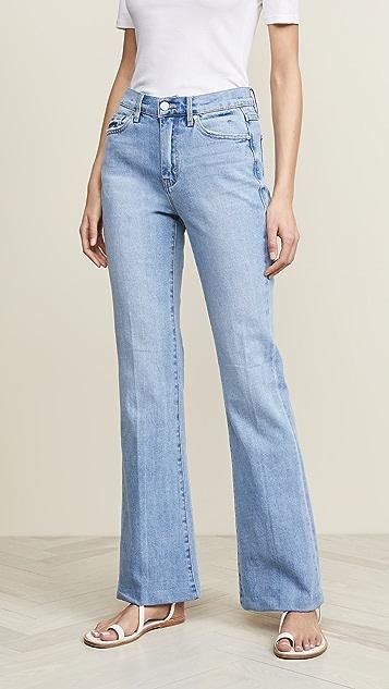 Habitual Tess High Rise Barefoot Flare Jeans