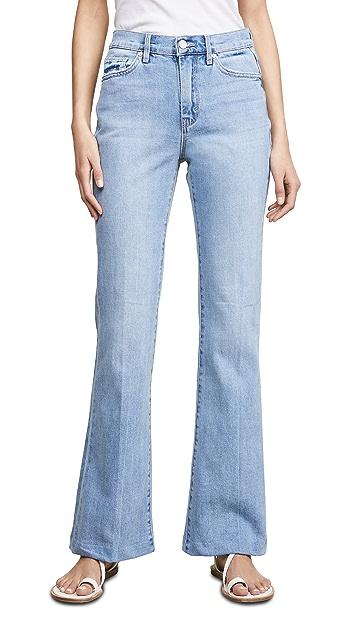 Habitual Tess Barefoot 高腰喇叭牛仔裤